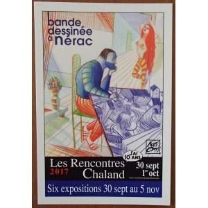 Carte Postale Affiche MATTOTTI Rencontres Chaland 2017