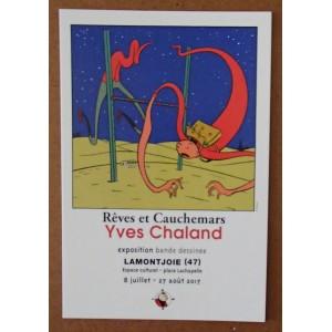 Carte Postale Expo Cauchemars RC 2017