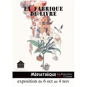 Affiche Expo2018 Fabrique Livre Rencontres Chaland 2018