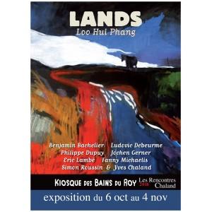 Affiche Expo2018 LANDS LooHuiPhang Rencontres Chaland 2018