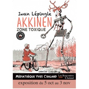 Affiche Expo2019 LEPINGLE Prix JA Rencontres Chaland 2019
