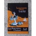 Carte Postale Affiche CATEL Rencontres Chaland 2019