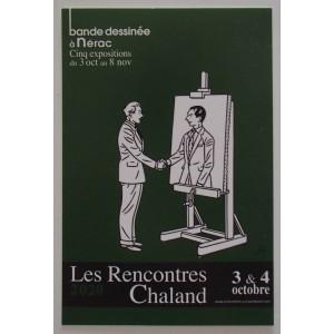 Carte Postale Affiche FLOCH Rencontres Chaland 2020