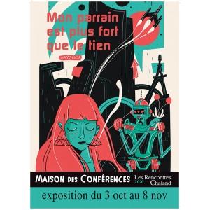 Affiche Expo2020 Mon Parrain DR PONCE Rencontres Chaland 2020