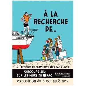 Affiche Expo2020 Floch Ciné Rencontres Chaland 2020