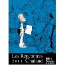Sérigraphie Rencontres Chaland 2011 par ZEP signée