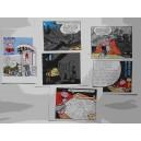 Cartes Postales CHALAND Grandes Cases Lot de 6 et 1 bonus offrert