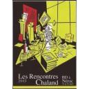 Sérigraphie Rencontres Chaland 2013 par Serge CLERC
