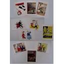 Cartes Postales Spirou par Yves Chaland Rencontres 2013 lot 9+1