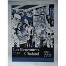 Sérigraphie Rencontres Chaland 2014 par Charles BURNS