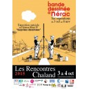Affiche Rencontres Chaland 2015 par David Prudhomme et Pascal Rabaté