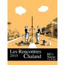 Sérigraphie Rencontres Chaland 2015 par David Prudhomme et Pascal Rabaté