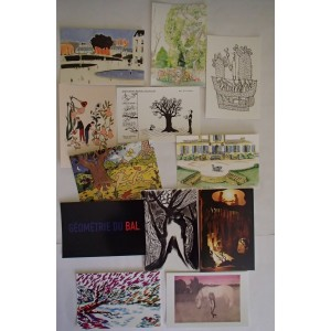 Cartes Postales Lot.12+1 Collectif, Surprises Dessinées Rencontres Chaland 2015